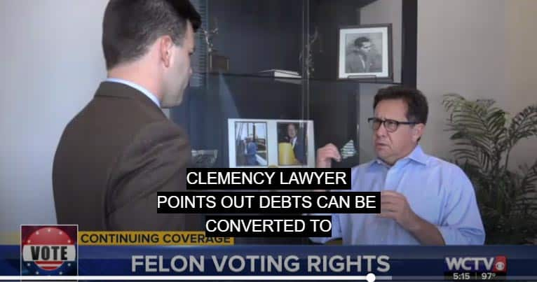 Florida Clemency Attorney Reggie Garcia on WCTV